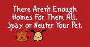 Spay or Neuter your pet!!
